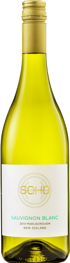 SOHO White Collection Sauvignon Blanc 2013