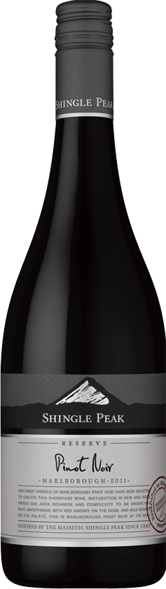 Shingle Peak Reserve Pinot Noir 2012